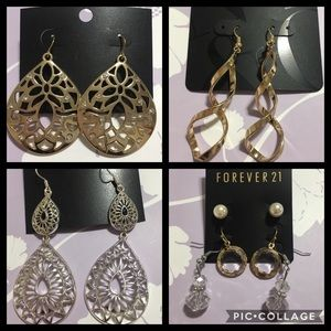 Jewelry - 6 pairs of variety earrings